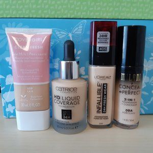 Liquid foundation bundle (4)